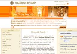 Proyecto: Portal Arquidiocesis de Yucatán