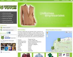 Proyecto: Uniformes Yoyos