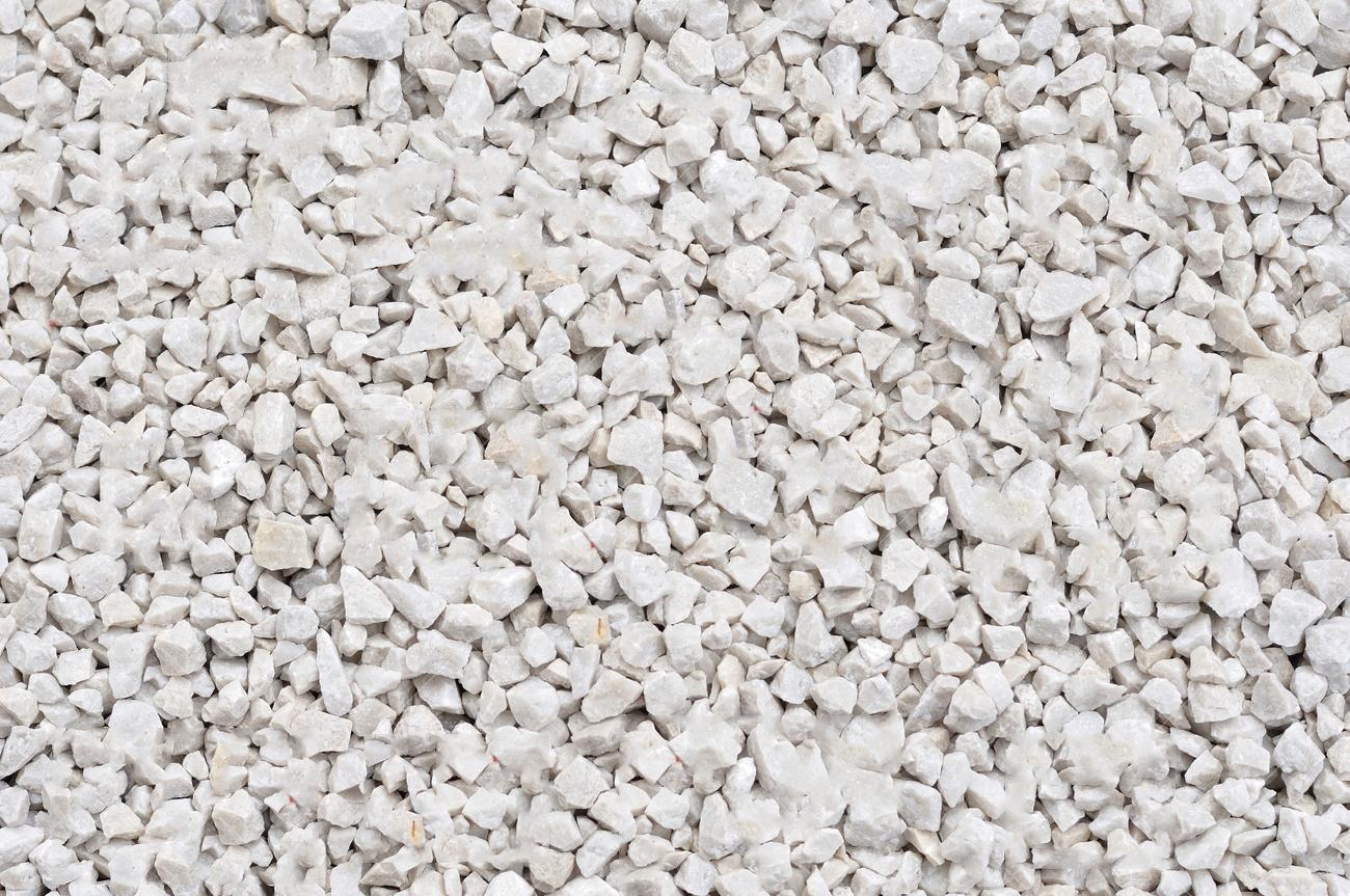 Canto rodado blanco macael materiales de construcci n - Precio grava blanca ...